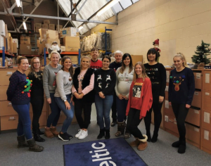 Keltic's Christmas Jumper Day 2019- Save the children!