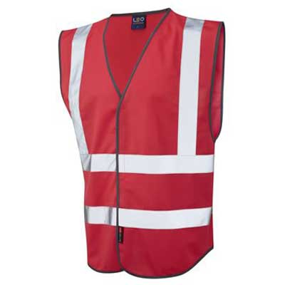 coloured reflective vests