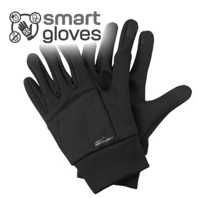 anti viral / bacterial touchscreen winter gloves